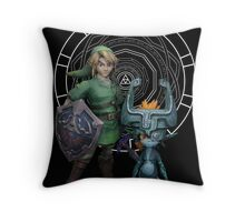 The Legend of Link and the Twilight Princess Throw Pillow