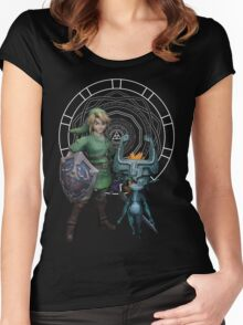 The Legend of Link and the Twilight Princess Women's Fitted Scoop T-Shirt