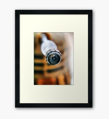Dalek attack!  The (almost) all seeing eye Framed Print