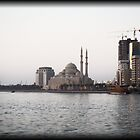 The White Mosque by Omar Dakhane