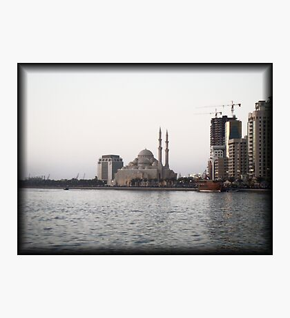 The White Mosque Photographic Print