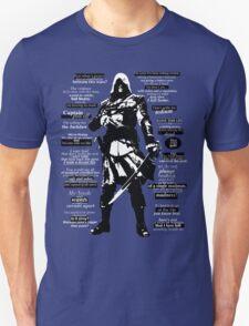 Edward Kenway Quotes T-Shirt