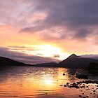 Sunset at Loch Assynt by RFK C