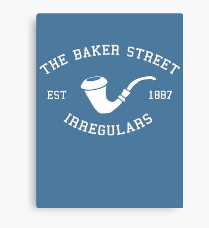 The Baker Street Irregulars Canvas Print
