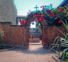 Mission San Juan Capistrano - the Sacred Garden by Cupertino
