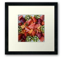 Fresh Fruit platter Framed Print