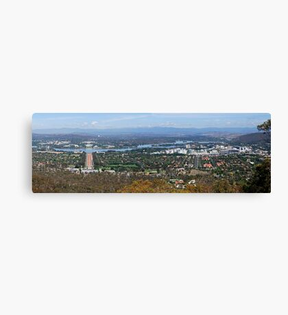 Capital Canberra Canvas Print