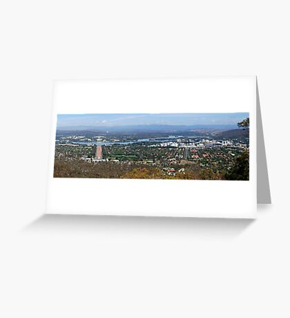 Capital Canberra Greeting Card