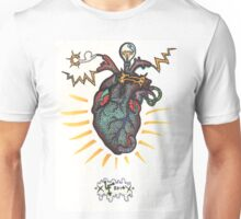 SHOCKING! The Electric Heart - COLOR VERSION Unisex T-Shirt