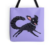 Running Dog Tote Bag