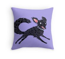 Running Dog Throw Pillow