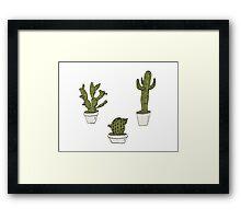Plants Scattered  Framed Print