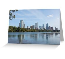 Austin City Skyline Greeting Card