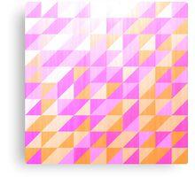 distressed purples pattern Canvas Print