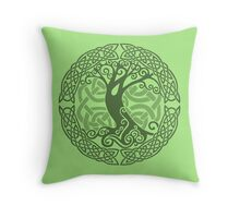 I am the womb: of every holt Throw Pillow