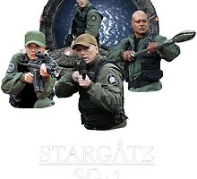 Stargate SG-1 Team by captToryBellman