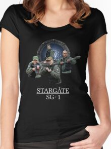 Stargate SG-1 Team Women's Fitted Scoop T-Shirt