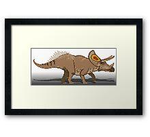 Torosaurus Framed Print