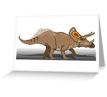Torosaurus Greeting Card