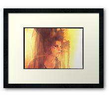 golden girl 3 Framed Print