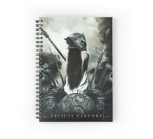 Felicia Farerre: Love Is the Best Weapon  Spiral Notebook