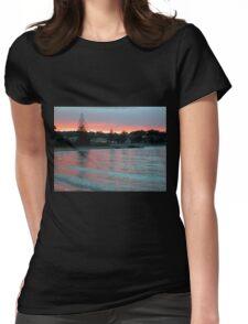 Evening at the Beach, Penguin, Tasmania, Australia. Womens Fitted T-Shirt