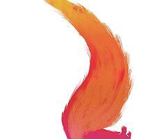 Fiery Squirrel by DesignsbyReg