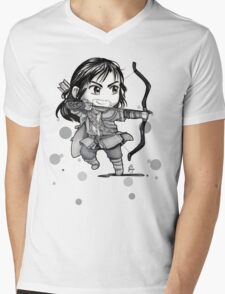 Chibi Kili Mens V-Neck T-Shirt