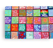 Collection Of Thoughts - Rectangle Canvas Print