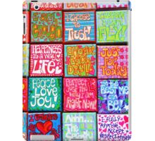 Collection Of Thoughts - Rectangle iPad Case/Skin