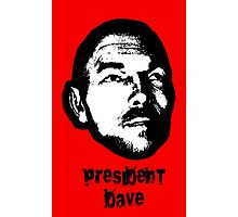 President Dave Photographic Print
