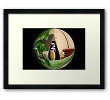 My Humble Abode: Penguin World Framed Print