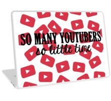 So Many Youtubers Laptop Skin