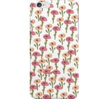 Floral Poppy Pattern iPhone Case/Skin
