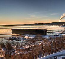 Good Morning -- Marquette Michigan by luc1ddr3am