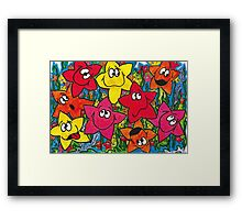 Starfishtified Framed Print