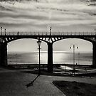 Bridge of shadows and light by clickinhistory