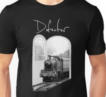 Train Through White Oak Doors Unisex T-Shirt