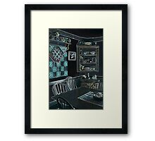 Southwest Style Room ~ Digital Art Photography Framed Print