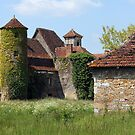 Hameau of Magnol, France by A.M. Ruttle
