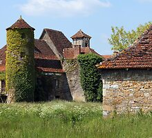 Hameau of Magnol, France by A.M. Ruttle