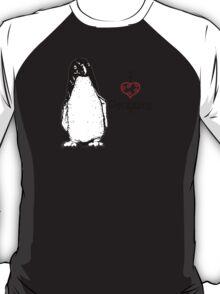 I Heart Penguins  T-Shirt