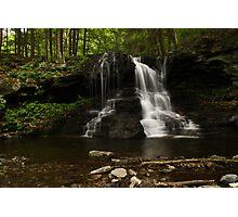 Dry Run Waterfalls-Hillsgrove, PA Photographic Print