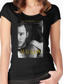 """Macklin"" poster 2 Women's Fitted Scoop T-Shirt"