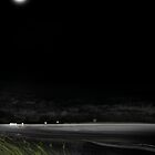 Moonlight on Pt. Vernon from Scarness Jetty. by Ryan-Byrne-Art