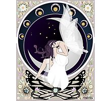 Fairy art nouveau Photographic Print