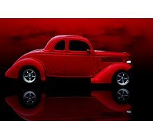 1936 Ford Tudor Coupe Photographic Print