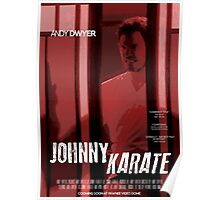 Johnny Karate poster Poster