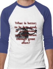 Paarthurnax Wisdom Men's Baseball ¾ T-Shirt