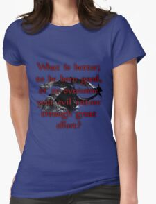 Paarthurnax Wisdom Womens Fitted T-Shirt